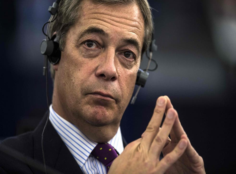 Mr Farage insisted Bolton's refusal to quit 'could provide a lifeline' for the party