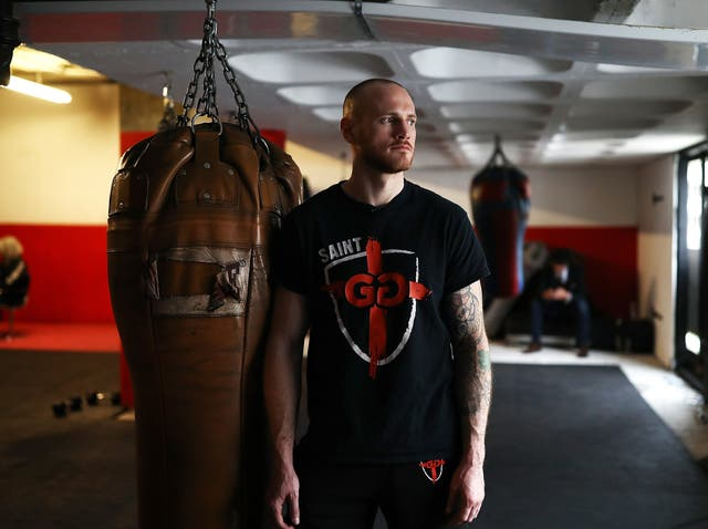 Groves fights in the World Boxing Super Series on Saturday night