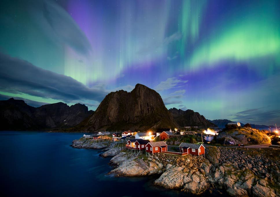 The Best Place To See The Northern Lights The Independent