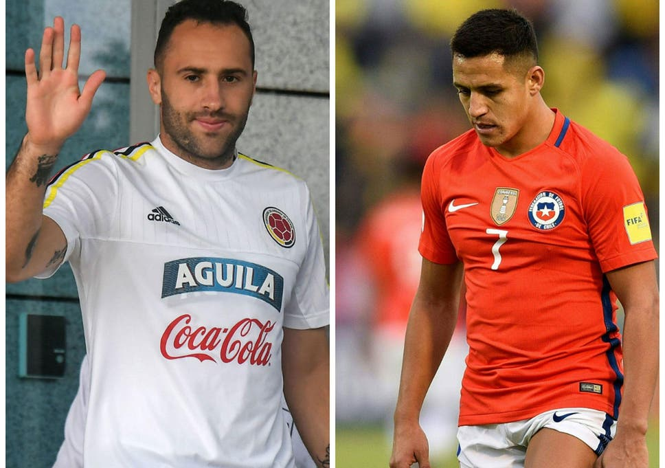 David Ospina blunder ends Chile and Alexis Sanchez s hopes of ... b9015130e