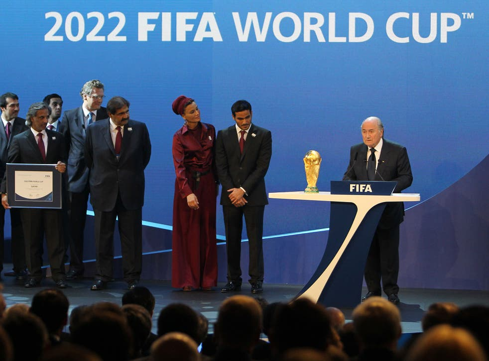 Qatar was controversially handed the 2022 World Cup in 2010 when Fifa was under Sepp Blatter's stewardship