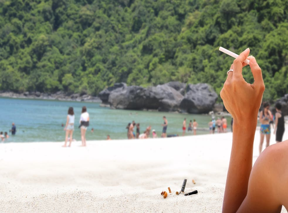 Thailand is banning smoking on 20 beaches