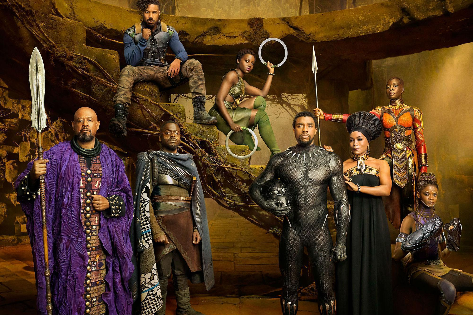 Image result for black panther production still