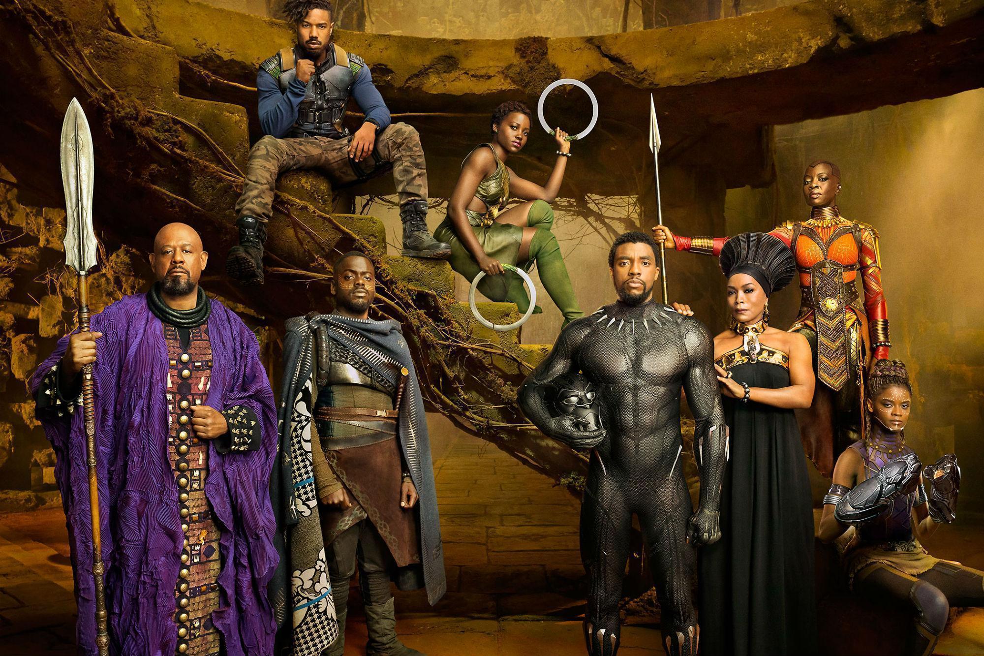Image result for black panther production still