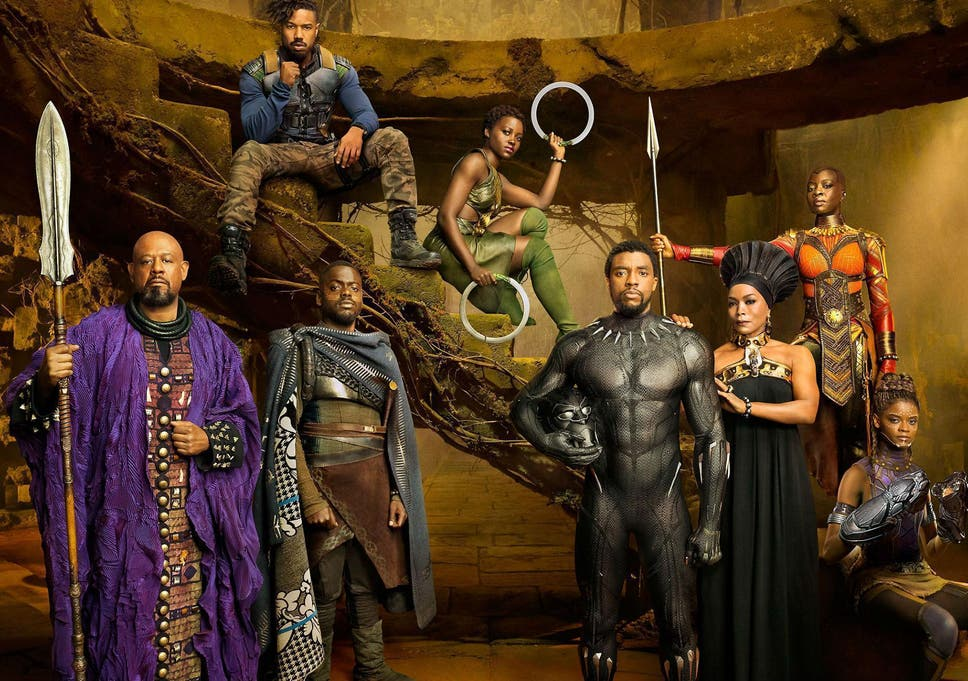 Image result for black panther cast