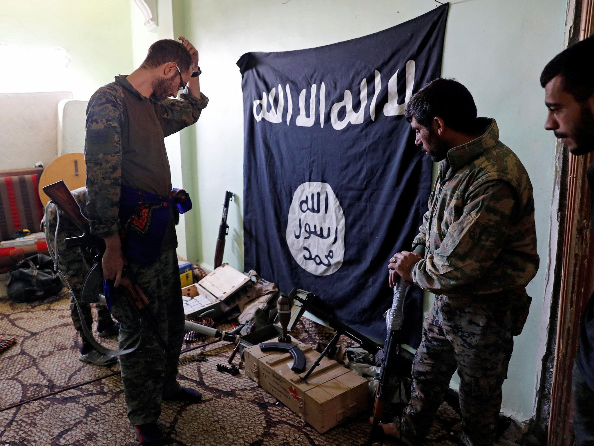 Isis could go underground with bunkers full of weapons if it is defeated in Syria and Iraq