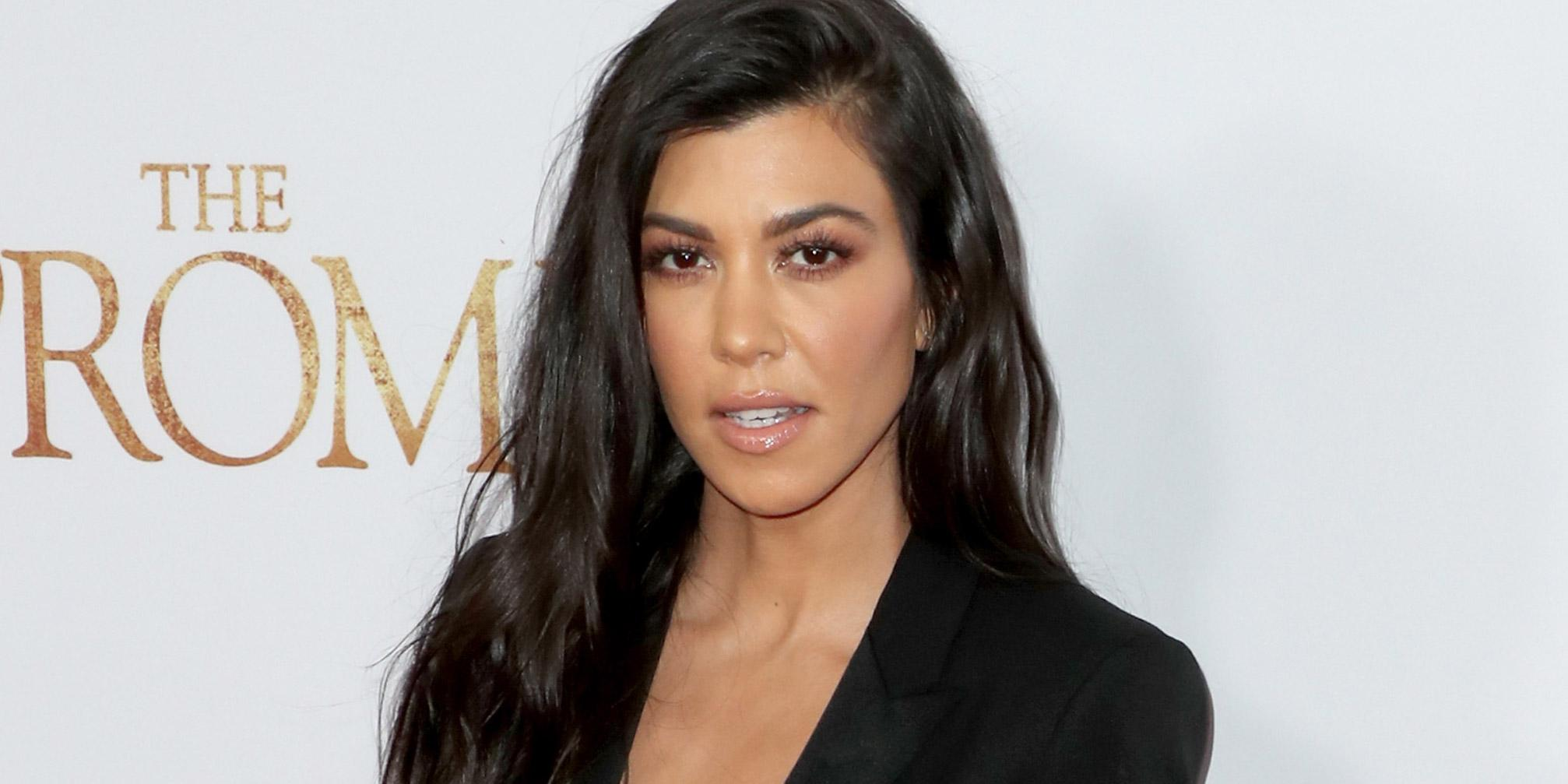 Kourtney Kardashian might be pregnant and everyone is making the same joke