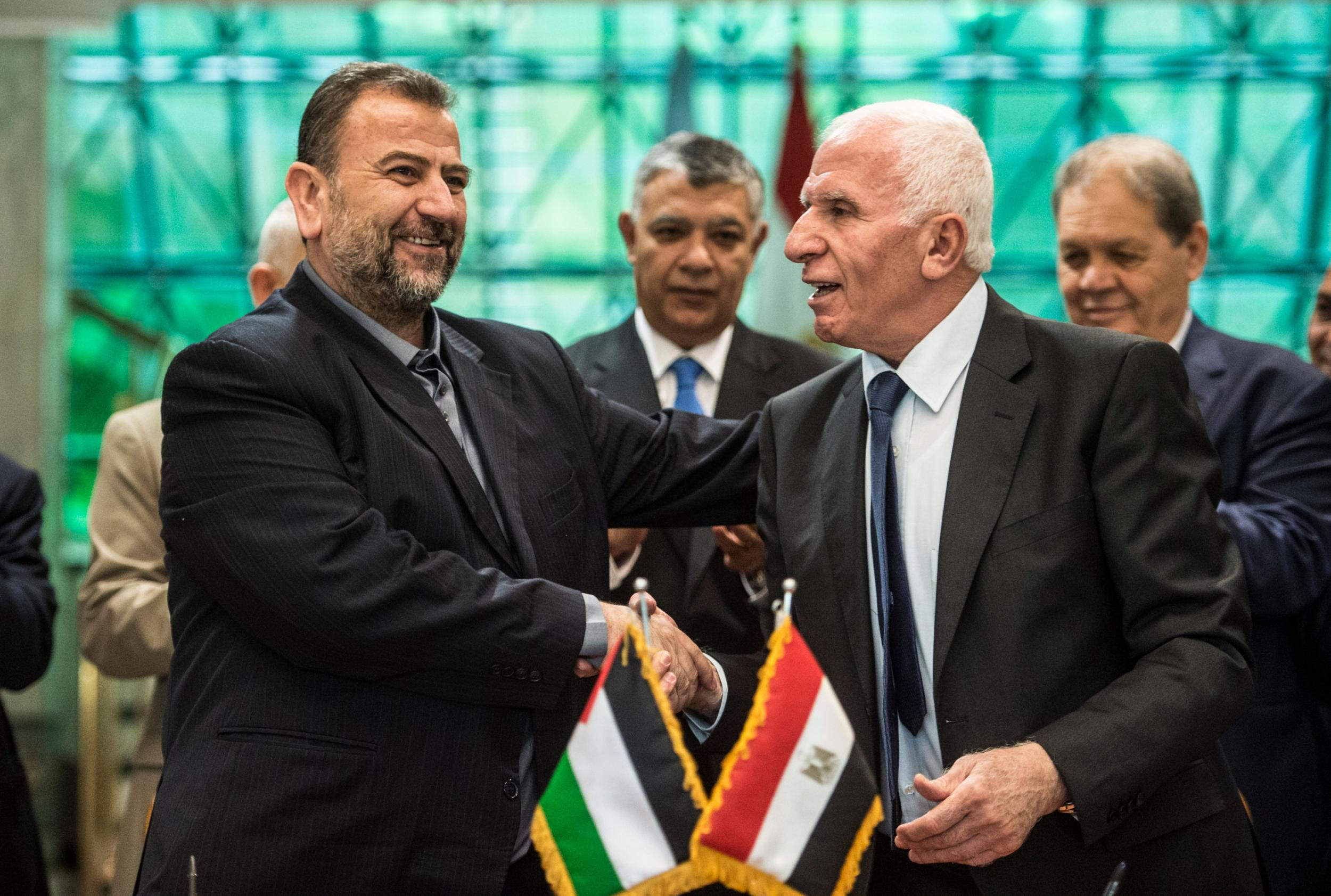 Palestinian factions Fatah and Hamas sign reconciliation deal in major breakthrough - World  news - NewsLocker
