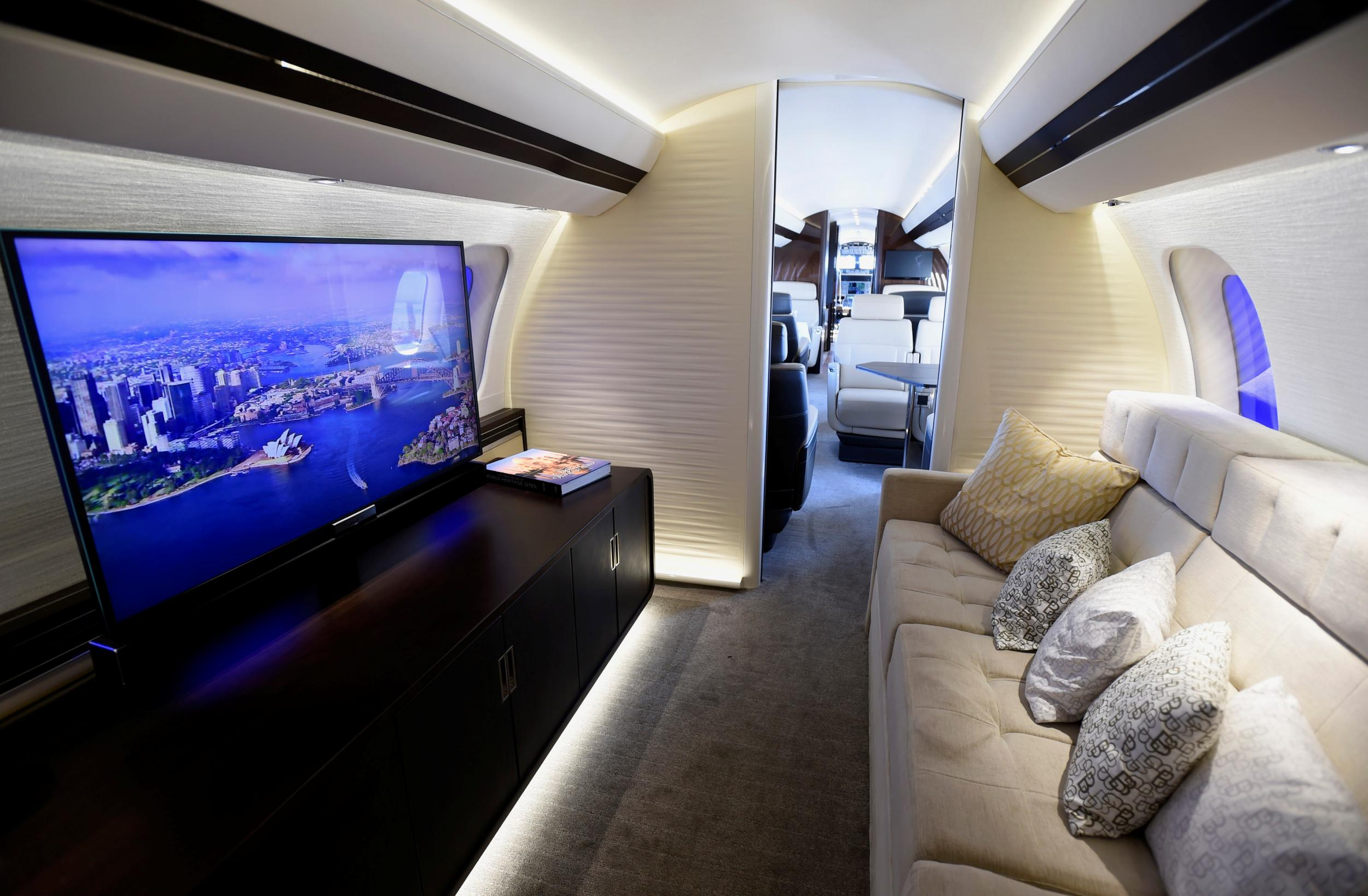 Inside the world's largest private jet