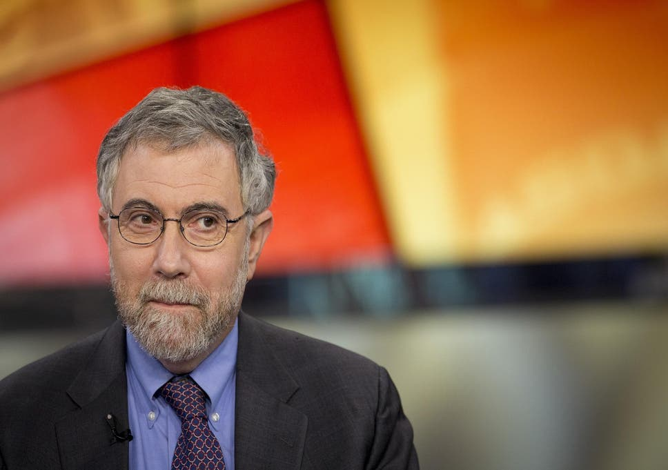 Without Ever Using Word Blog Nyt Admits >> A View From The Top Paul Krugman Nobel Prize Winner And America S