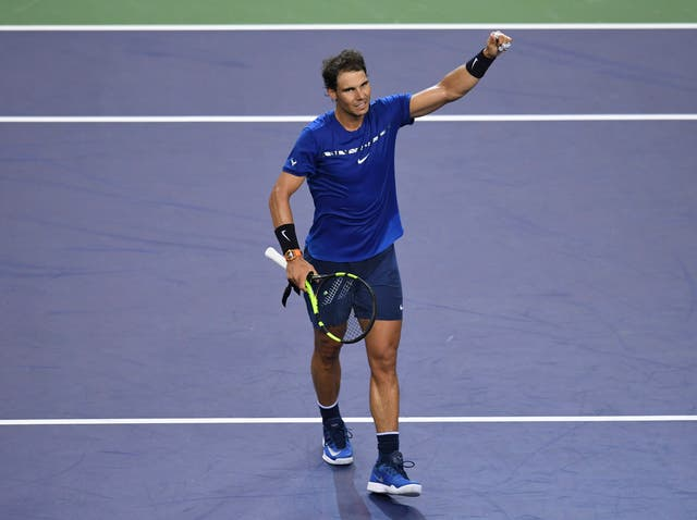 Nadal is safely through to the quarter-finals of the Shanghai Masters