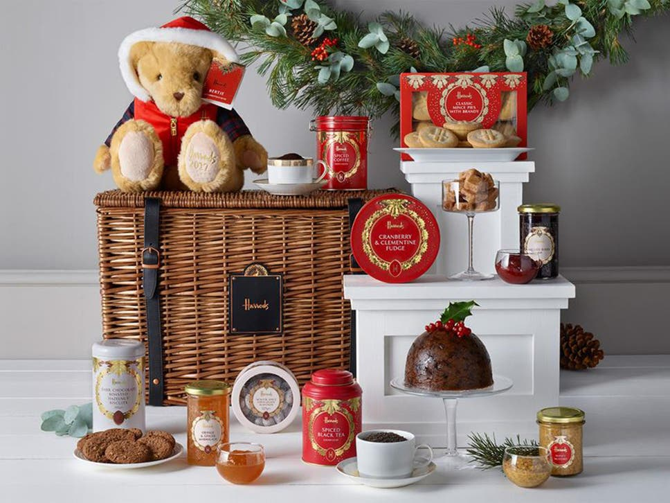 11 best christmas food and drink hampers the independent tis the season to be indulgent so find the perfect collection of foodie goodies forumfinder Gallery