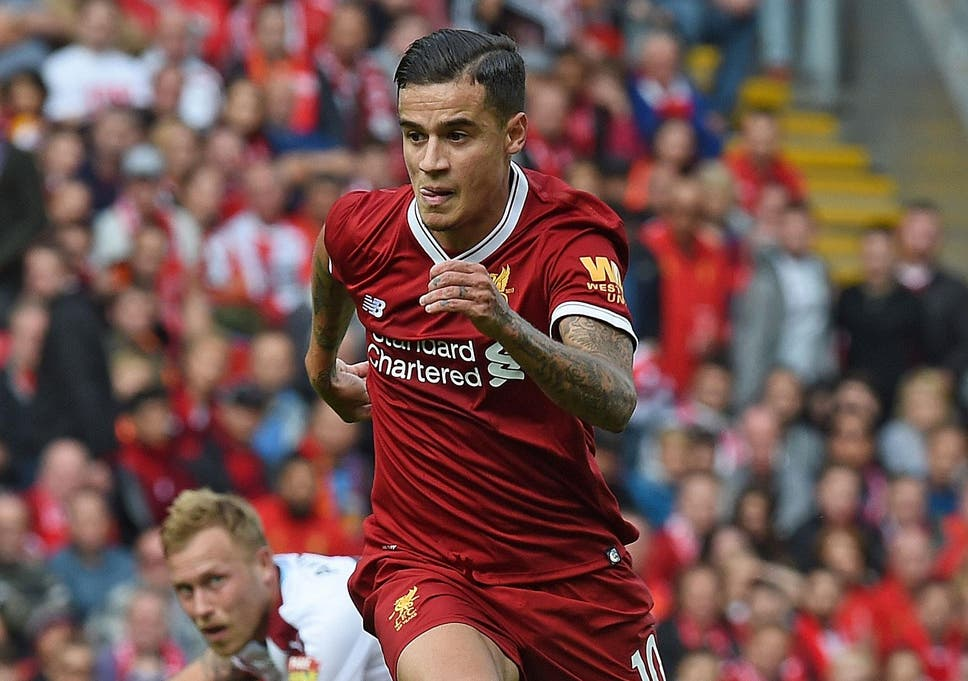 9abfed0c0 Philippe Coutinho still  happy  at Liverpool despite failed ...