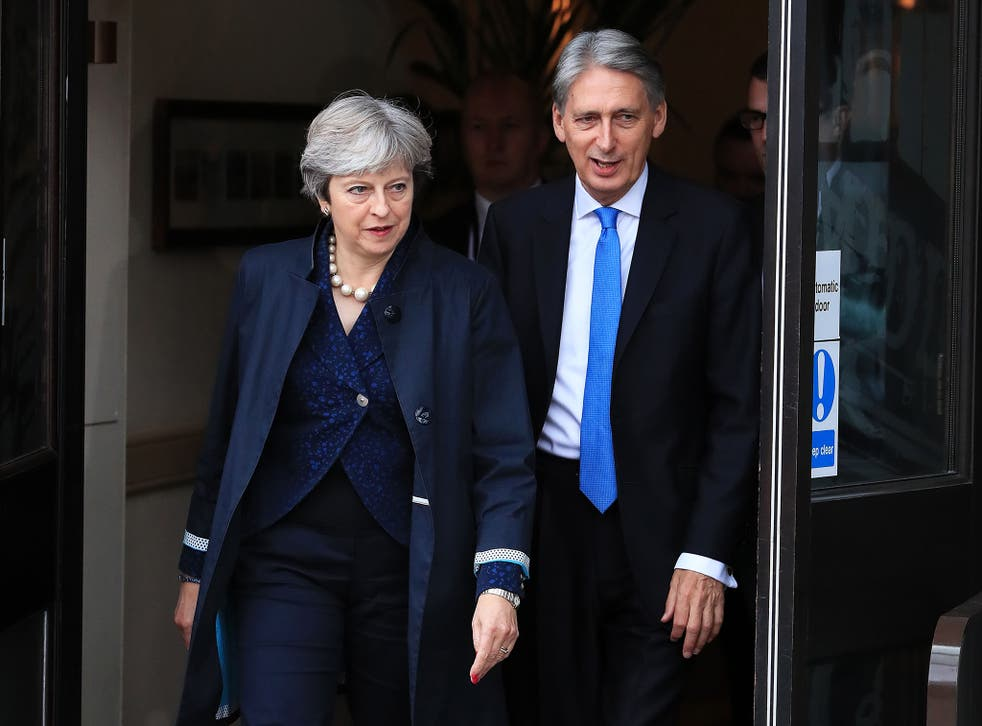 Theresa May and Philip Hammond both live in Downing Street and let out their London homes