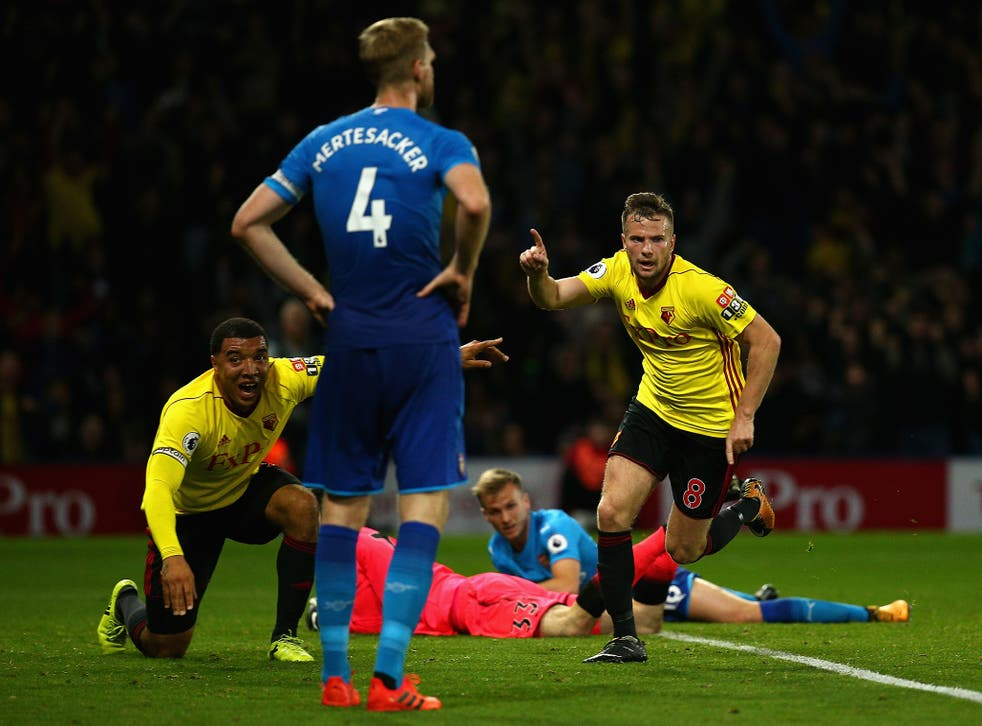 Cleverly scored a dramatic last-gasp winner to propel Watford into the top four