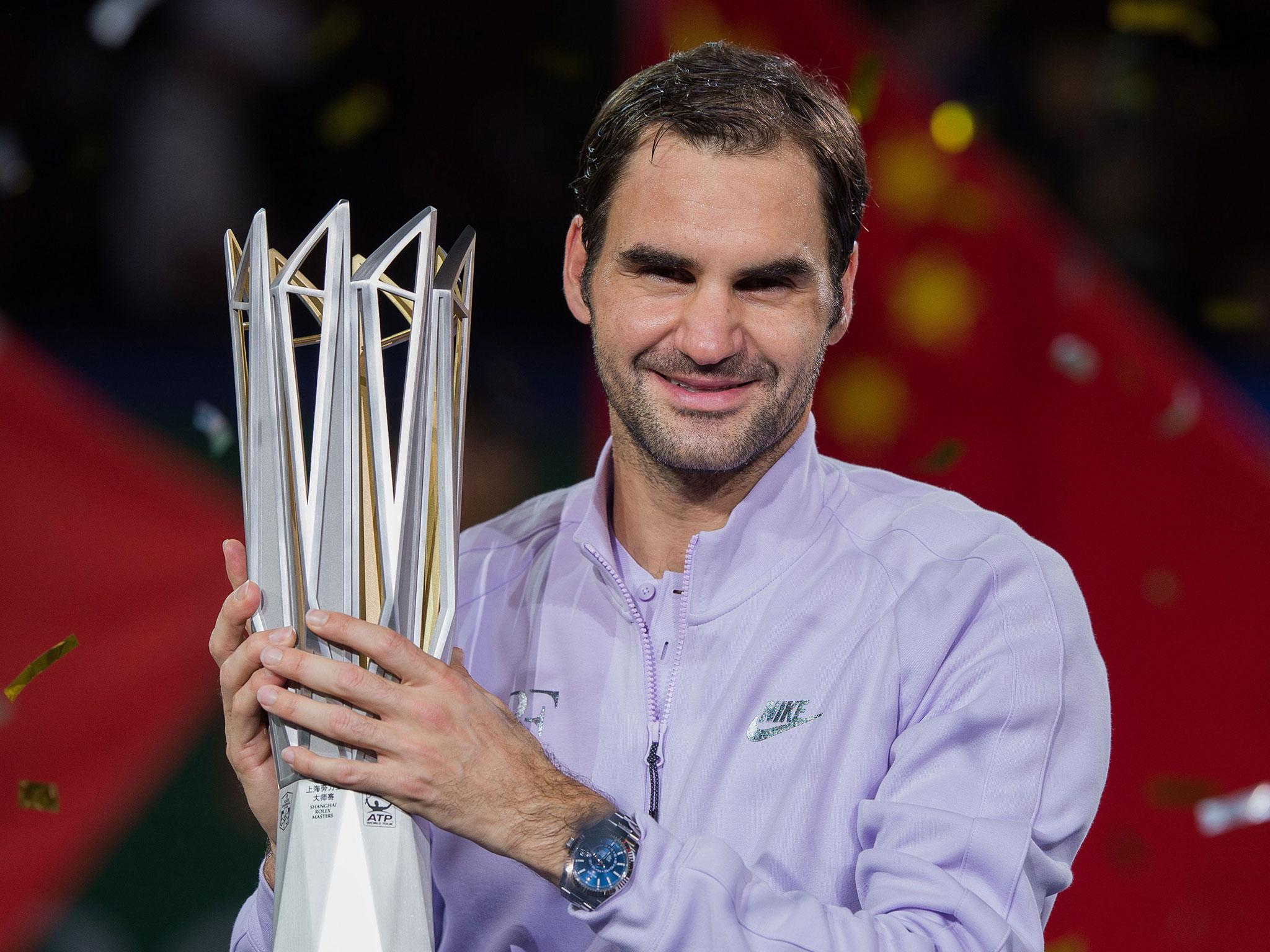 Roger Federer beats Rafael Nadal in straight sets to win Shanghai