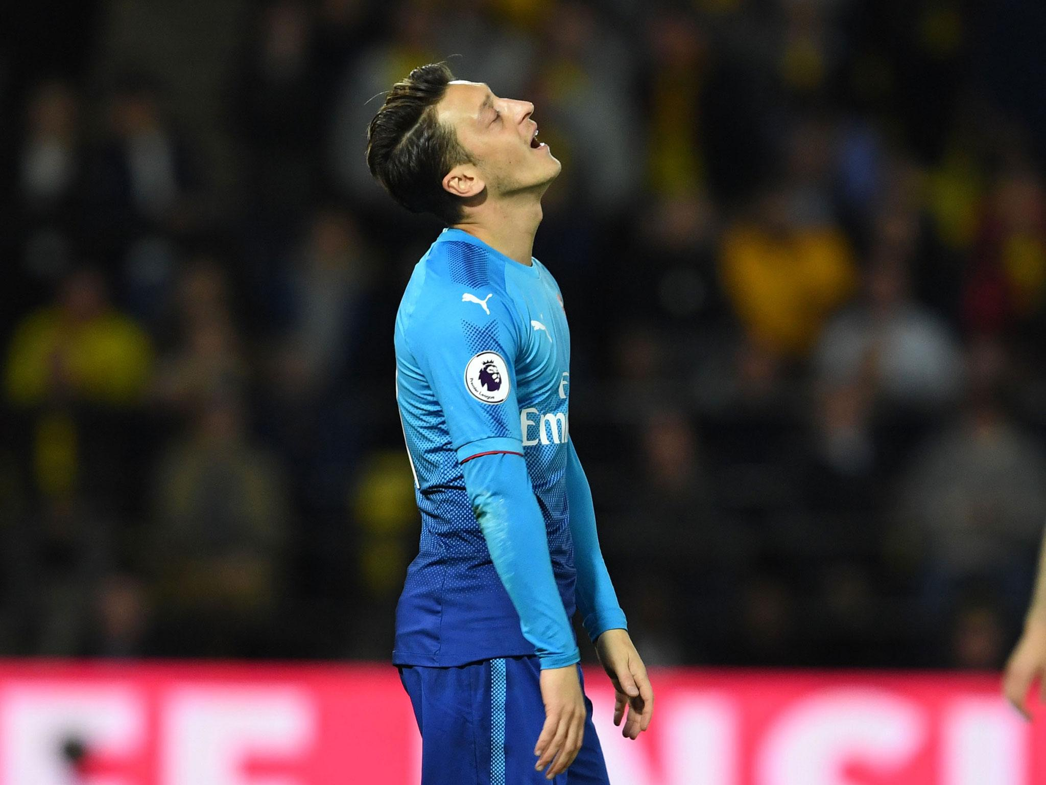 Arsene Wenger laments Arsenal s lack of away goals but Mesut Ozil