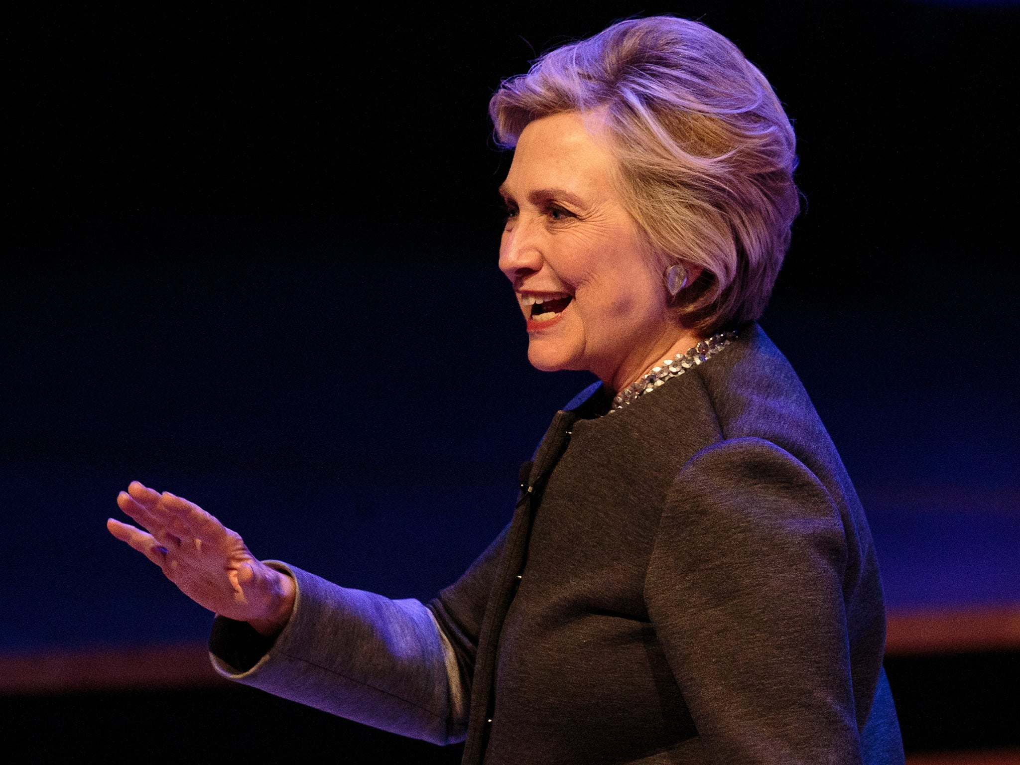 Last night, I saw Hillary Clinton – every young woman I ...