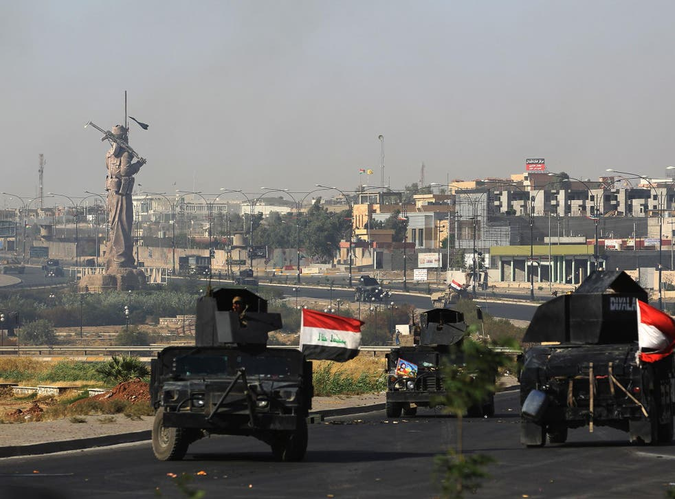 Iraqi forces seized the Kirkuk governor's office, key military sites and an oil field as they swept across the disputed province following soaring tensions over an independence referendum