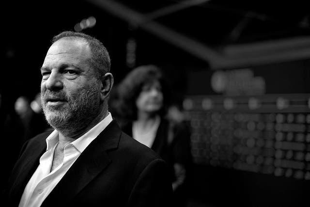 Harvey Weinstein at the 'Lion' premiere in Zurich, Switzerland, September 2016