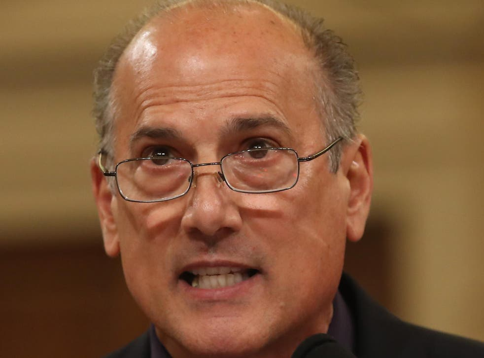 Tom Marino (R-PA), testifies during a House Human Resources Subcommittee on Capitol Hill, May 18, 2016 in Washington