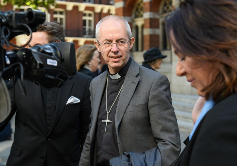 Archbishop welby wife sexual dysfunction