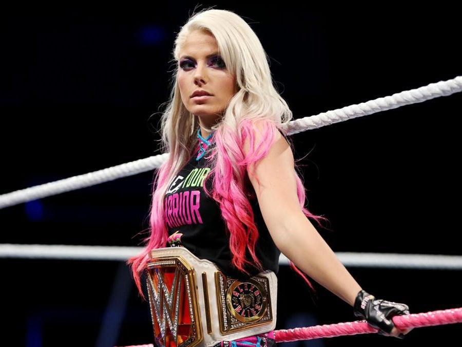 Wwe Raw Womens Champion Alexa Bliss Warns Asuka She Will -7786