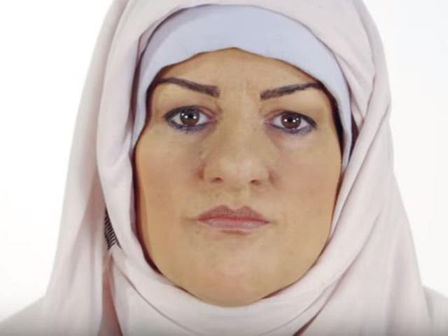 Katie Freeman wore a hijab and prosthetics to experience life as a British Muslim