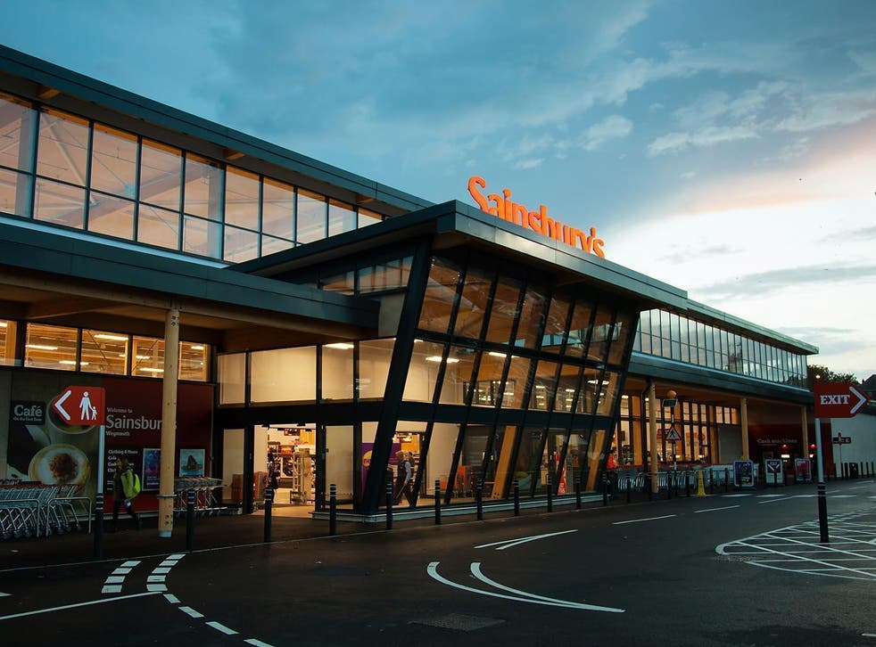There may be clouds on the horizon, but Sainsbury's is trying to blow them away
