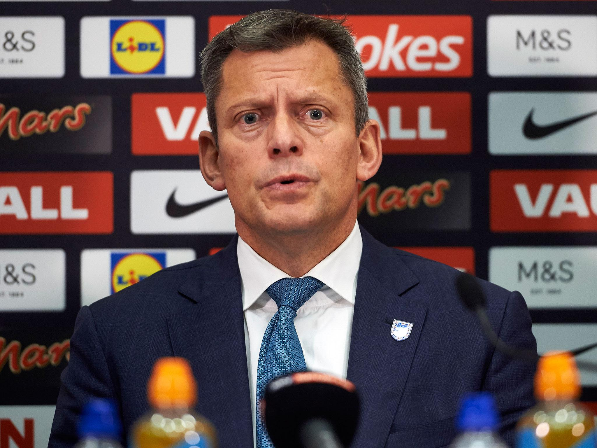 FA chief executive Martin Glenn under fire after claiming women are less tolerant of 'banter' than men