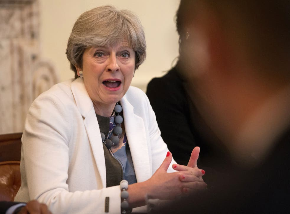 Theresa May will make her pitch to EU leaders over coffee