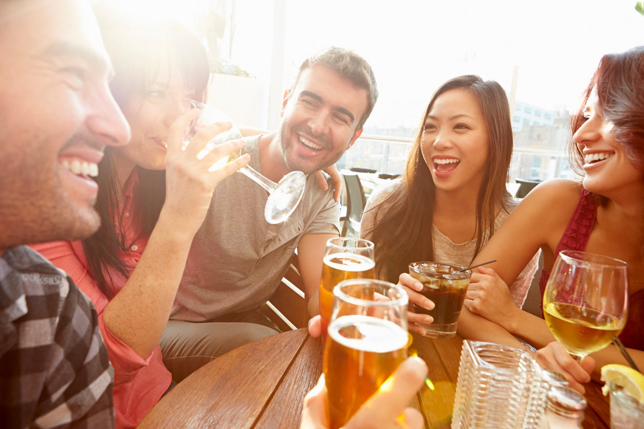 Drinking alcohol makes you better at speaking foreign languages