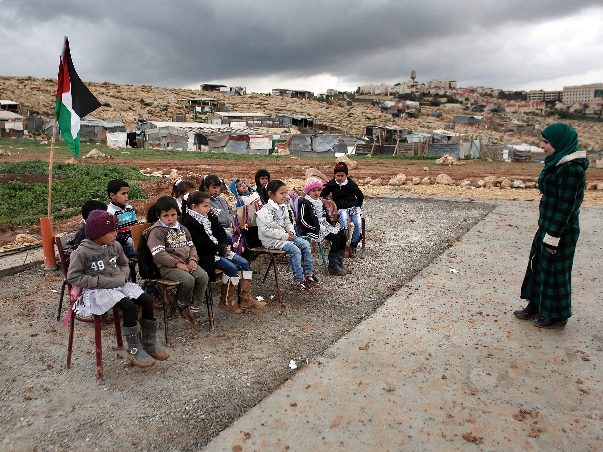 West Bank settlements: Eight EU countries demand Israel pay for demolished Palestinian schools