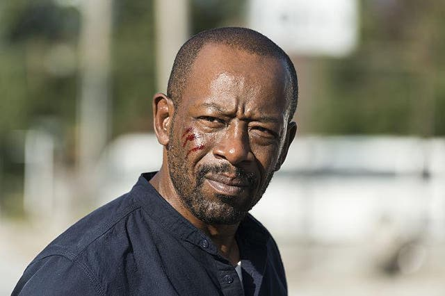 LennieJame as Morgan Jones in 'The Walking Dead'