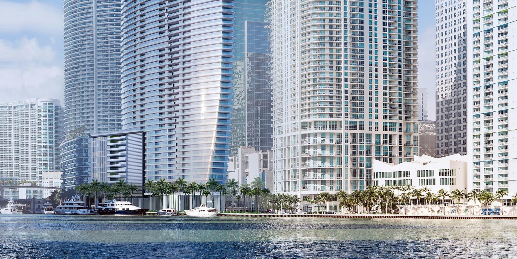Aston Martin set to build luxury waterfront Miami tower