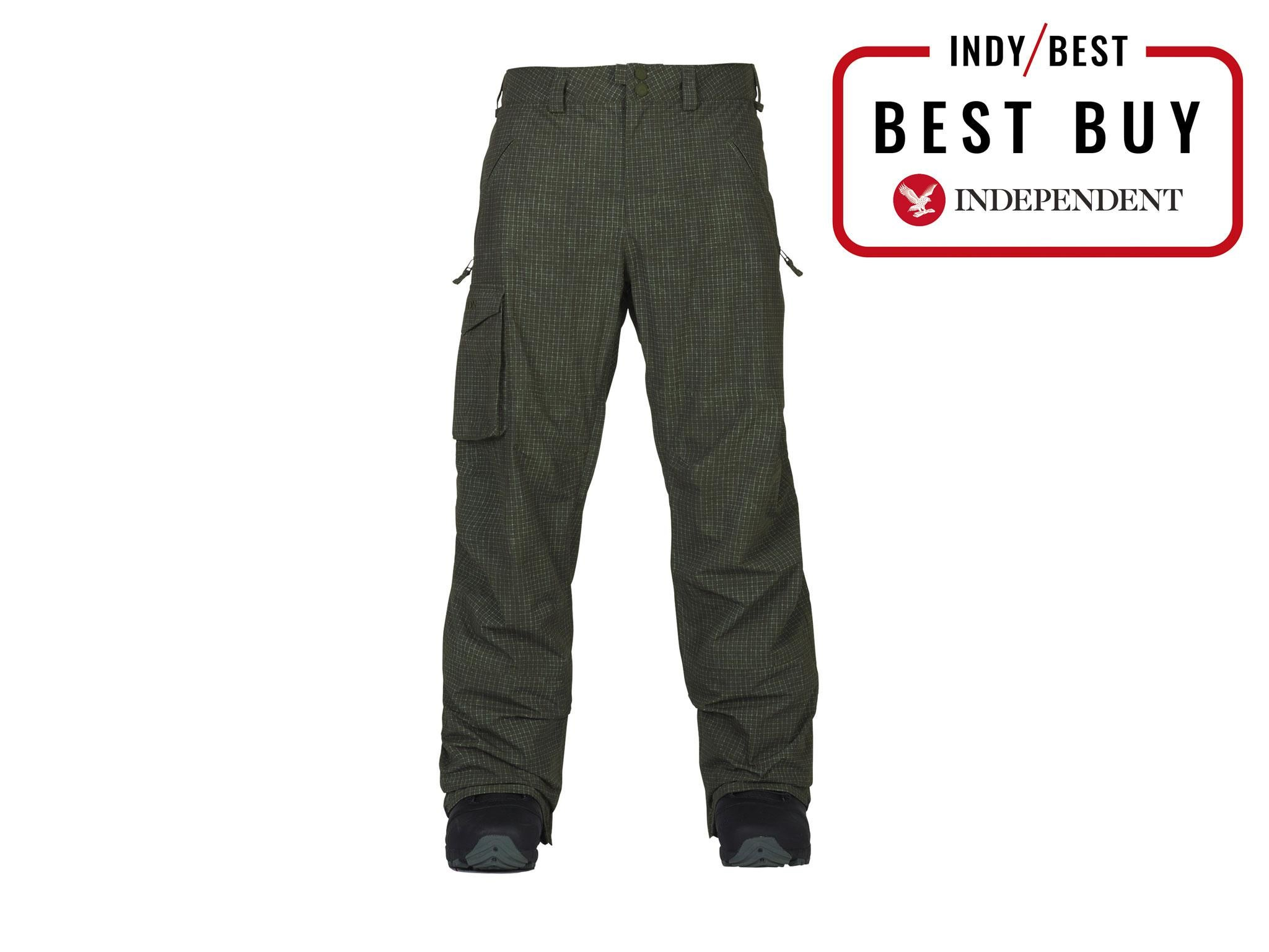 510957fbe128 13 best men's ski and snowboard pants   The Independent
