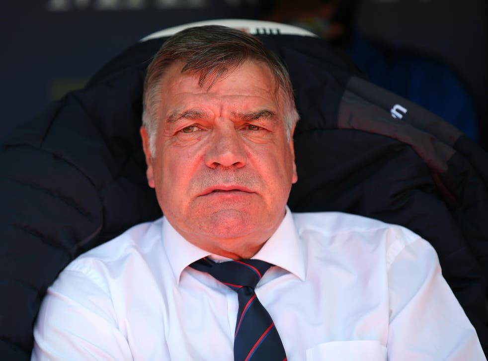 Allardyce left Palace in May but admitted he would have to think about the Everton vacancy