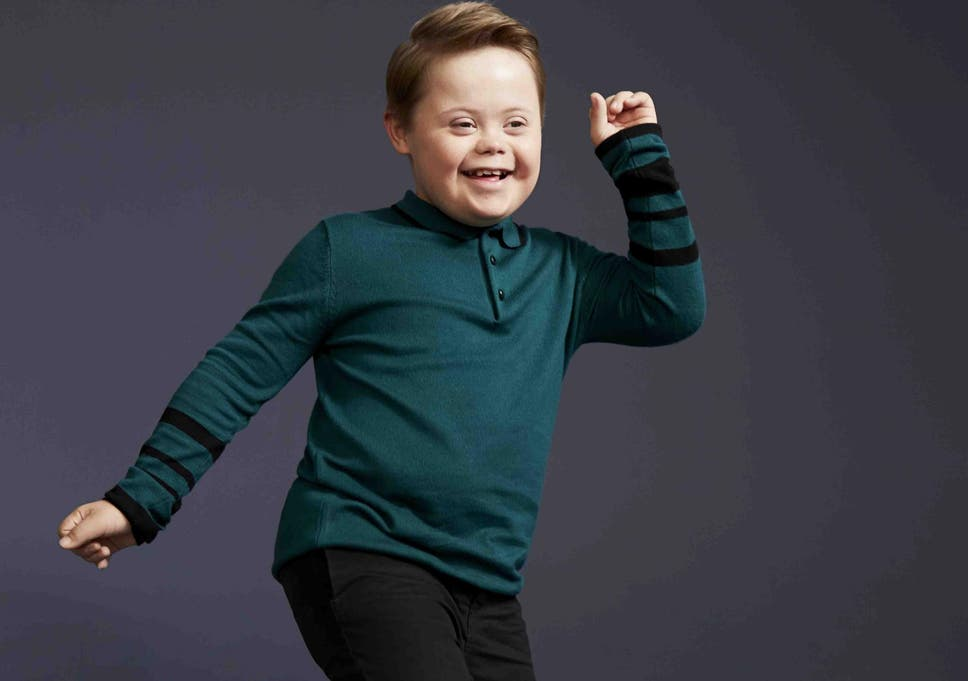 3b59797a0a2ec Young boy with Down's Syndrome becomes face of River Island's kids' range