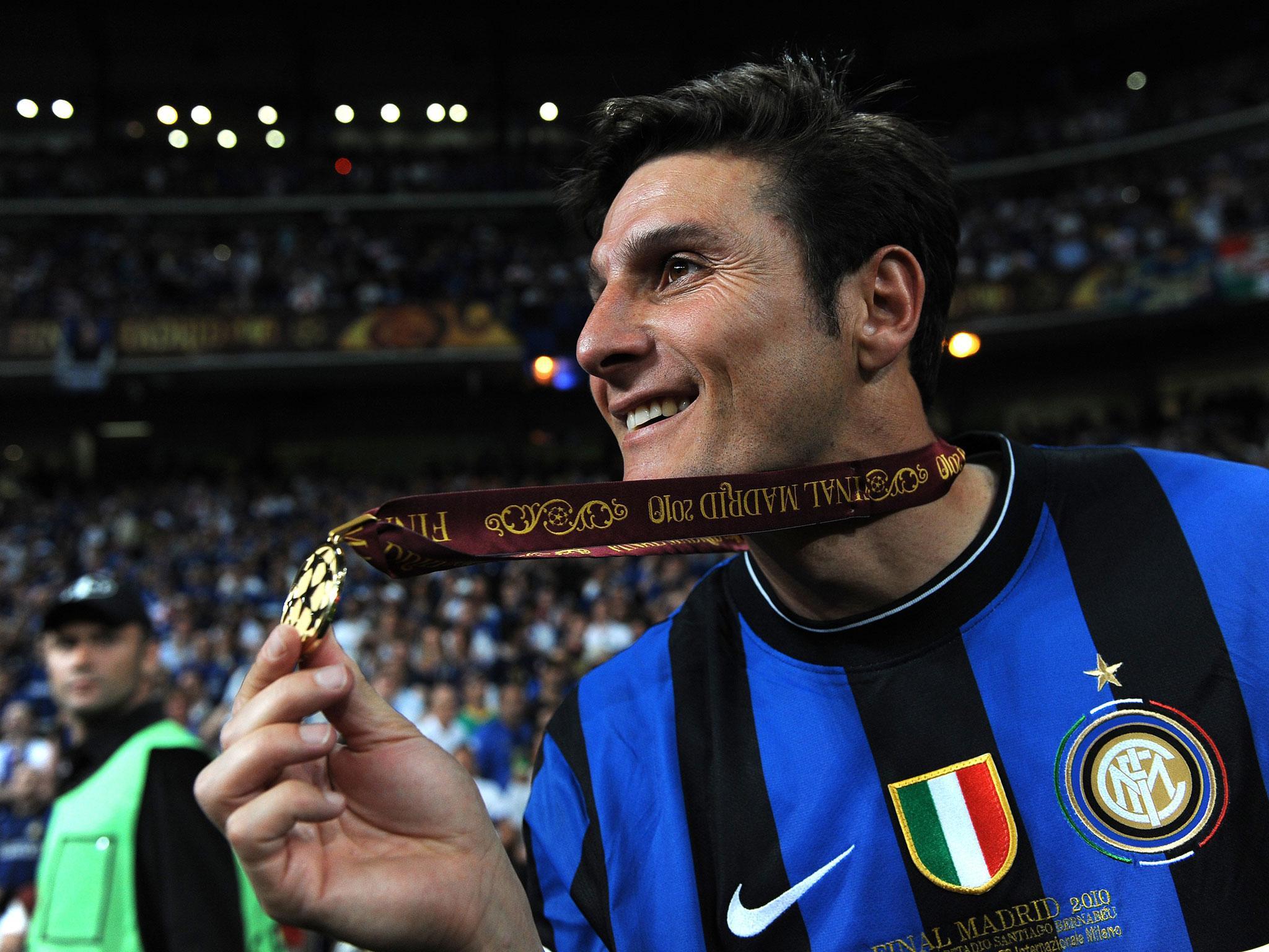 Inter Milan are my life Javier Zanetti on football retirement