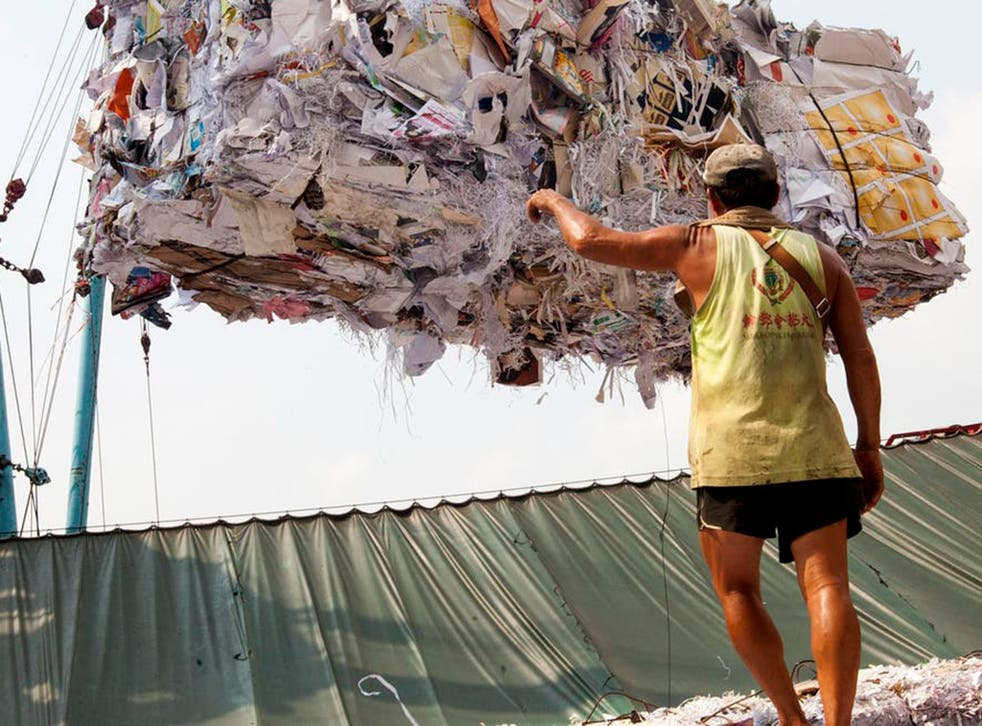 China has announced it will ban imports of 24 categories of recyclables and solid waste by the end of the year