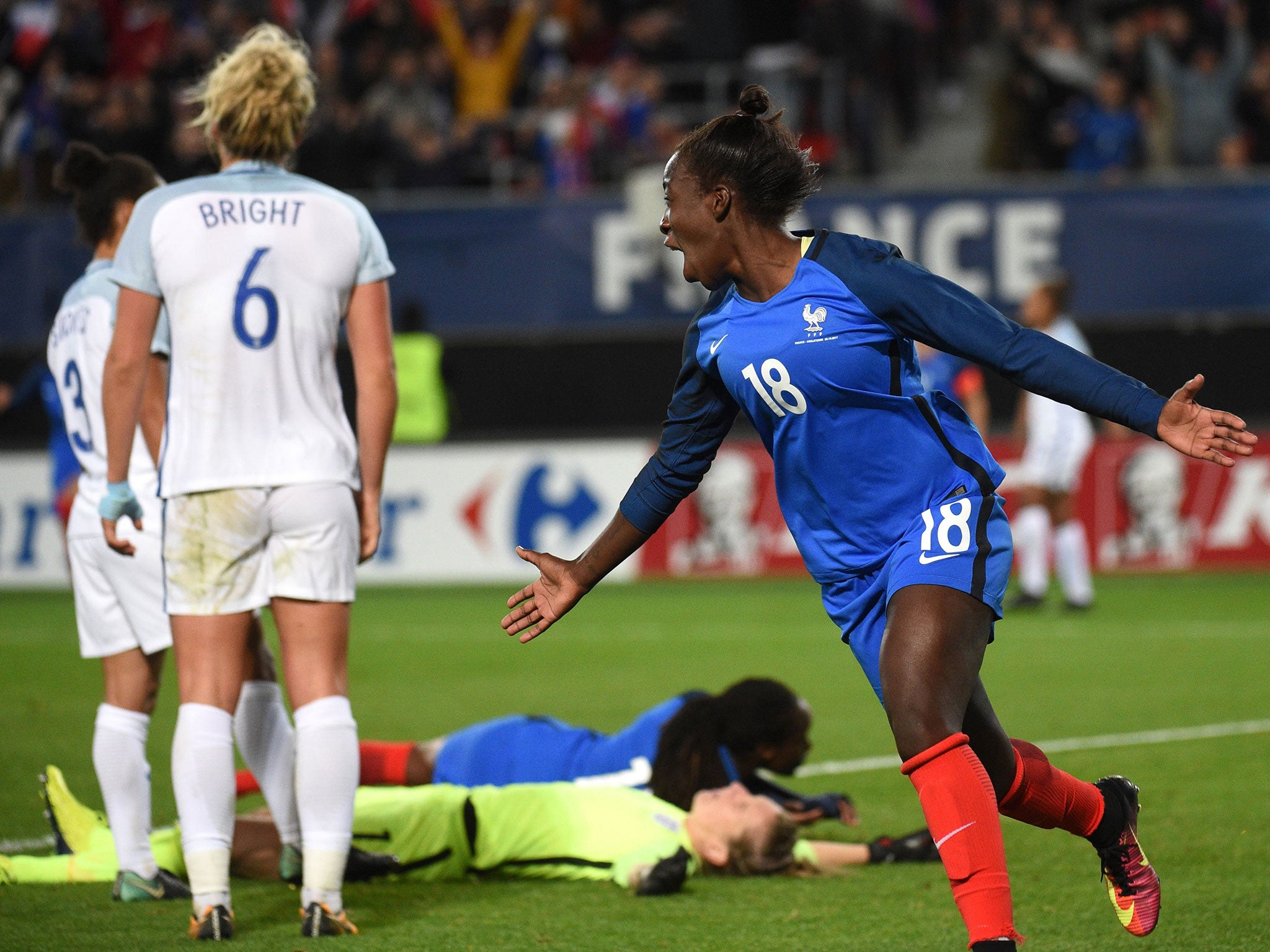 England women vs France match report: Lionesses defeated in first match since Mark Sampson's sacking
