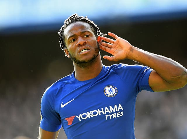 Batshuayi scored two goals as Chelsea came from behind to win