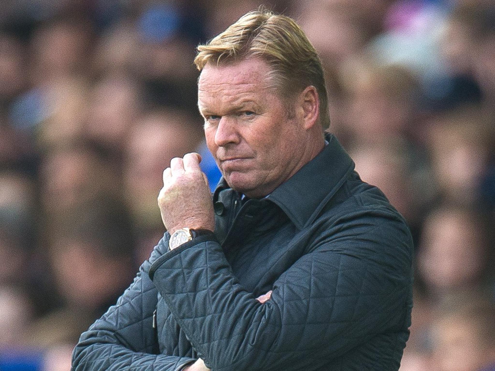Ronald Koeman appointed Netherlands boss months after Everton sack