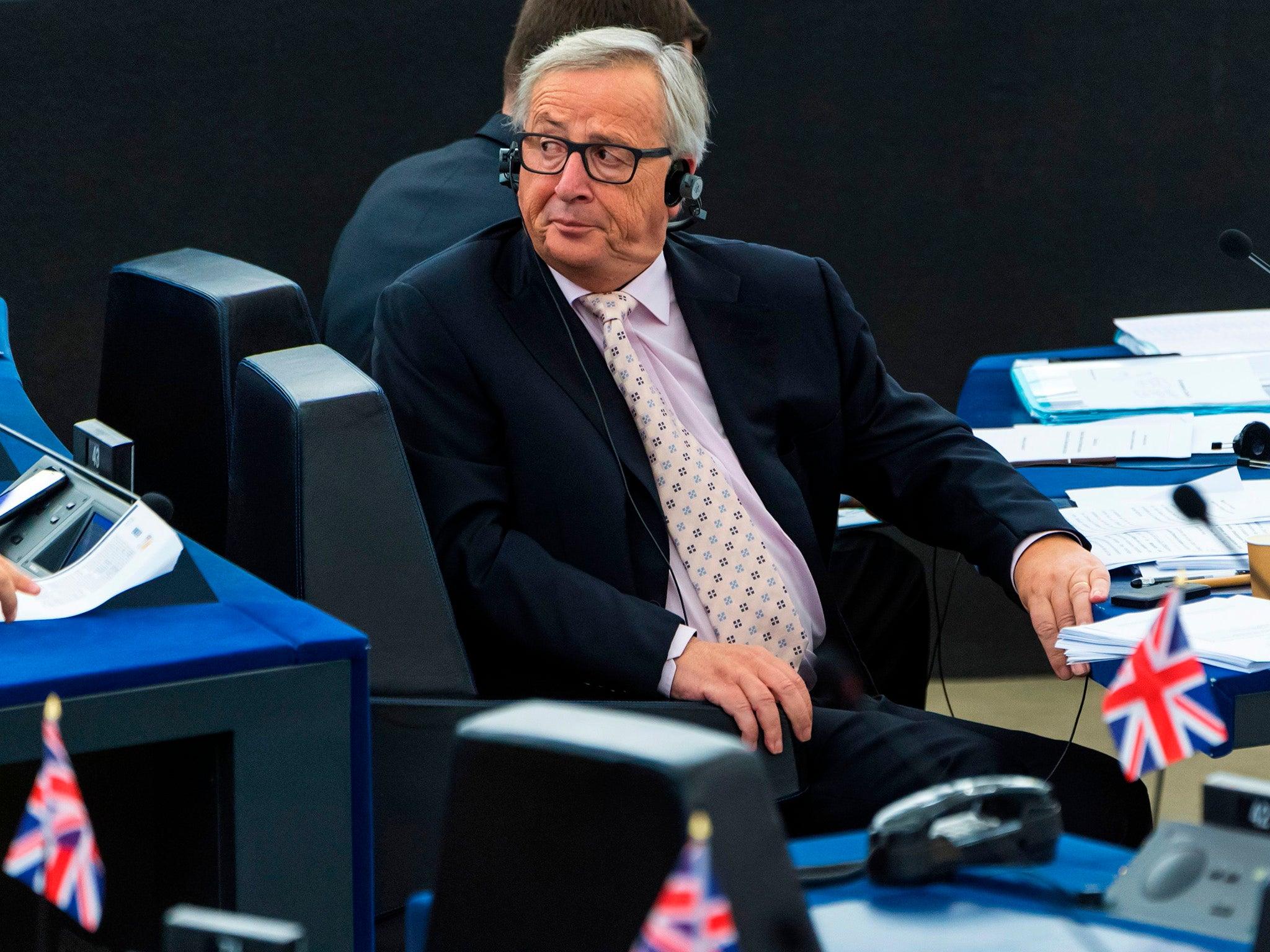 Jean-Claude Juncker says UK should rejoin EU after Brexit using Article 49