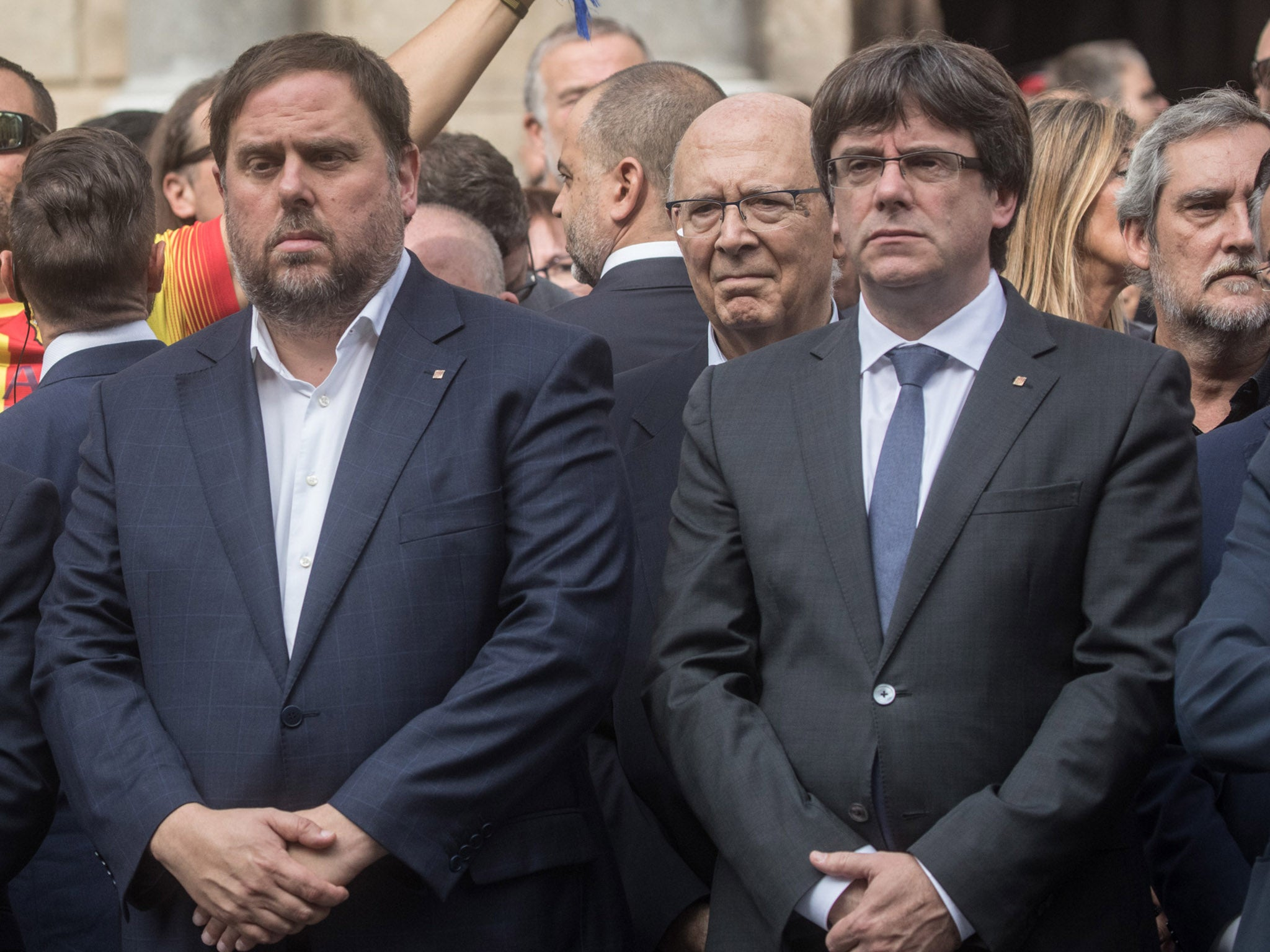 Catalonian VP says Spain has given them 'no choice but to proclaim a new republic'