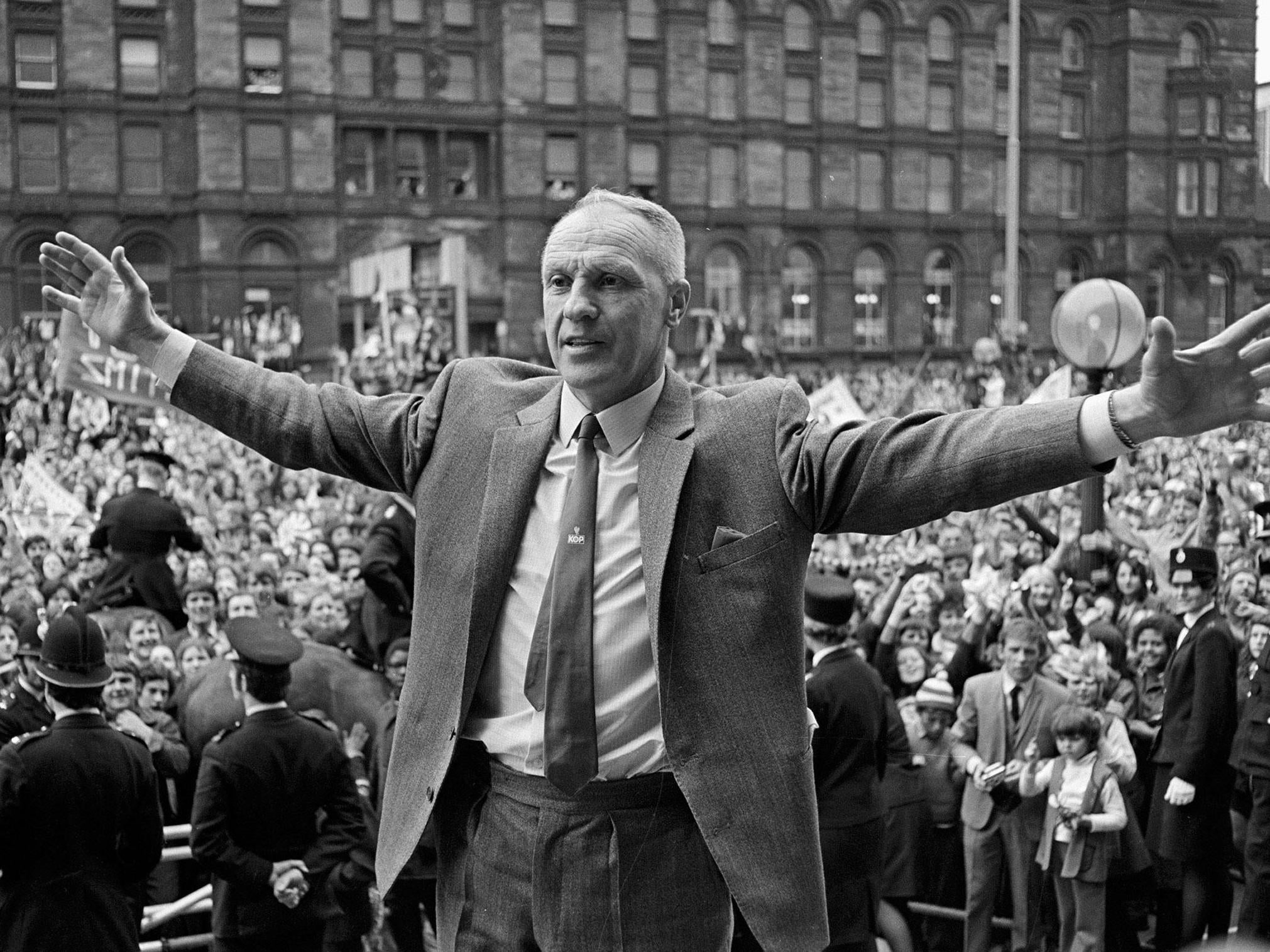 Bill Shankly remains the personification of Liverpool 60 years after he arrived on Merseyside