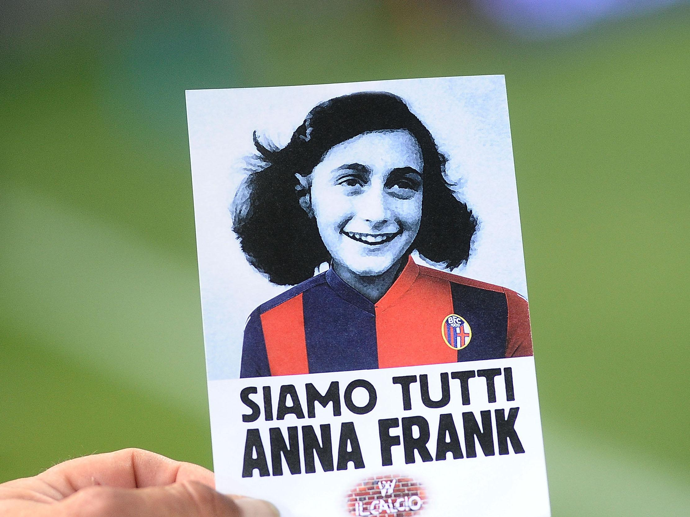 Italian fans overshadow bid to tackle anti semitic by singing italian fans overshadow bid to tackle anti semitic by singing fascist songs over anne frank reading the independent fandeluxe Epub