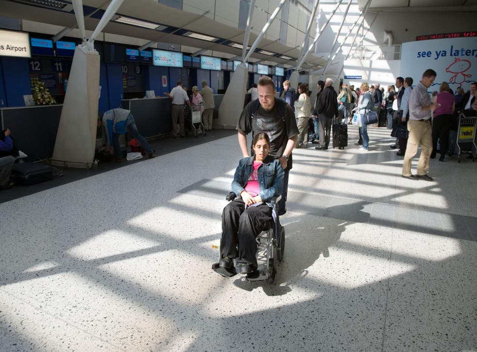 Stop judging people who use wheelchair assistance at airports, says our writer