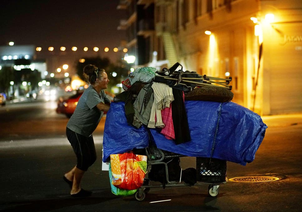 Hepatitis A outbreak among homeless a byproduct of California's