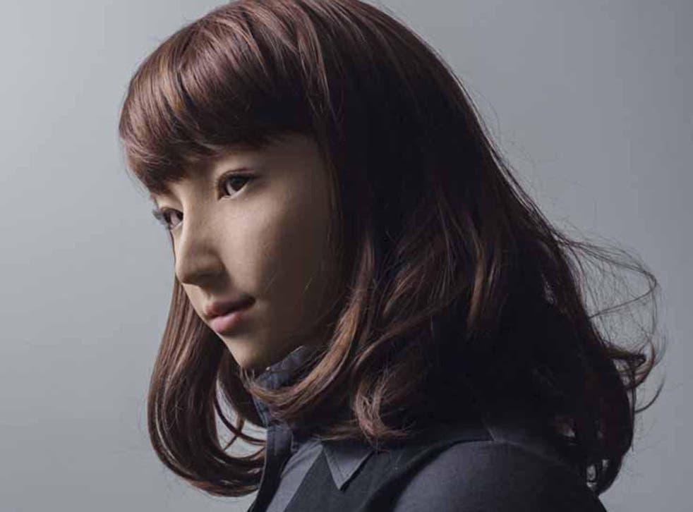 Tammi's photograph portrays Erica, an android from Hiroshi Ishiguro Laboratories